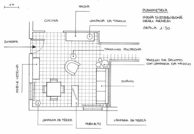 Come arredare un piccolo soggiorno con zona pranzo · punti luce: Soggiorno Quadrato Come Arredarlo