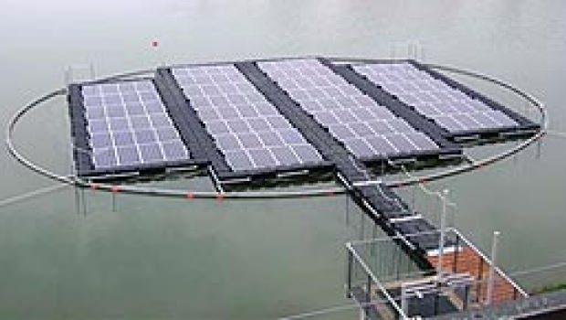 Impianto fotovoltaico galleggiante
