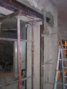 Apertura vani in strutture murarie