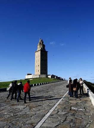La Torre de Hércules récord de visitantes
