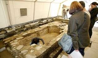 Mañana estará abierta al público la piscina romana de Santa María