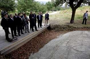 Campo Lameiro abre su parque rupestre y espera 80.000 visitas