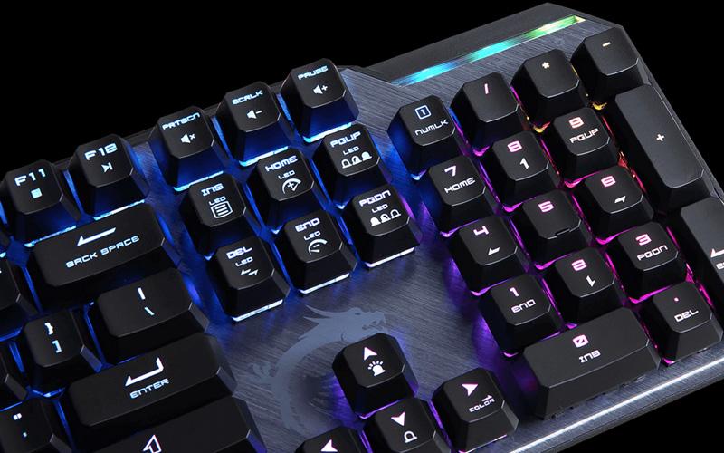 Clavier Mécanique Msi Vigor Gk50 Elite Bw Fr 2 GearUp pc gamer maroc
