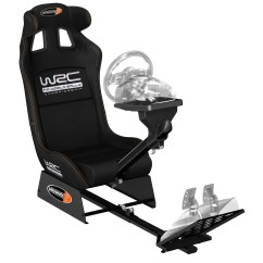 F1 Racing Chair Chairing A Meeting Playseats Wrc Siège Simulation Automobile Noir Base