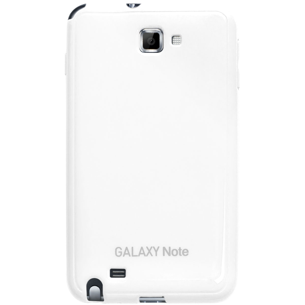 Anymode Made For Samsung Coque Glossy Blanche pour Galaxy