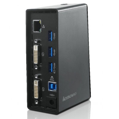 Lenovo USB 30 Port Replicator Dual Video Station D