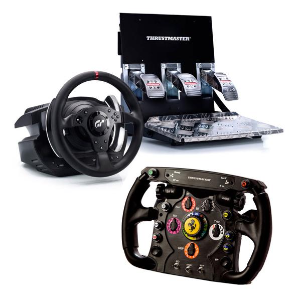 Thrustmaster T500 RS Ferrari F1 Wheel Add On Volant PC