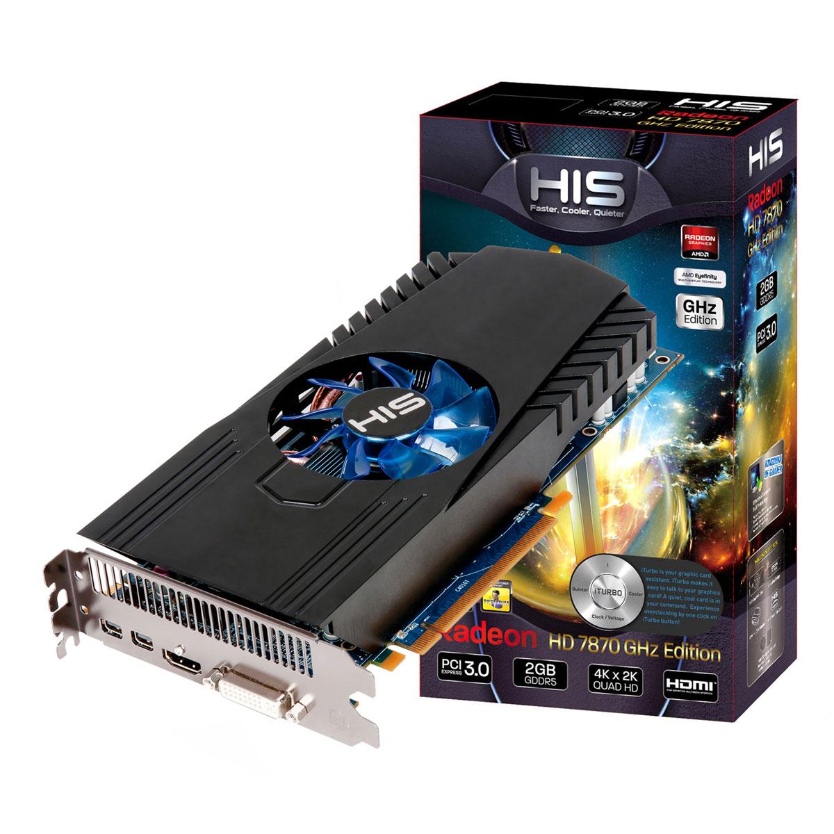 HIS 7870 Fan 2GB - Carte graphique HIS sur LDLC.com