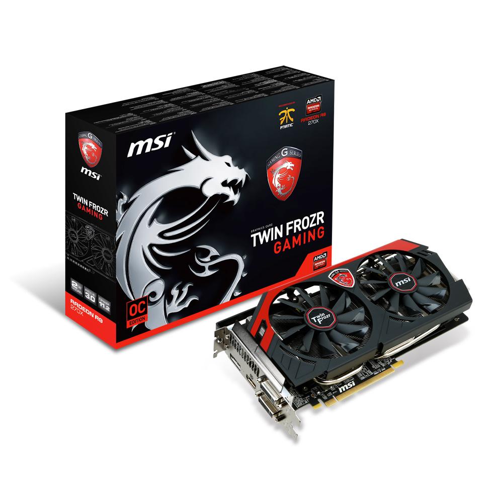MSI Radeon R9 270X GAMING 2G - Carte graphique MSI sur LDLC.com