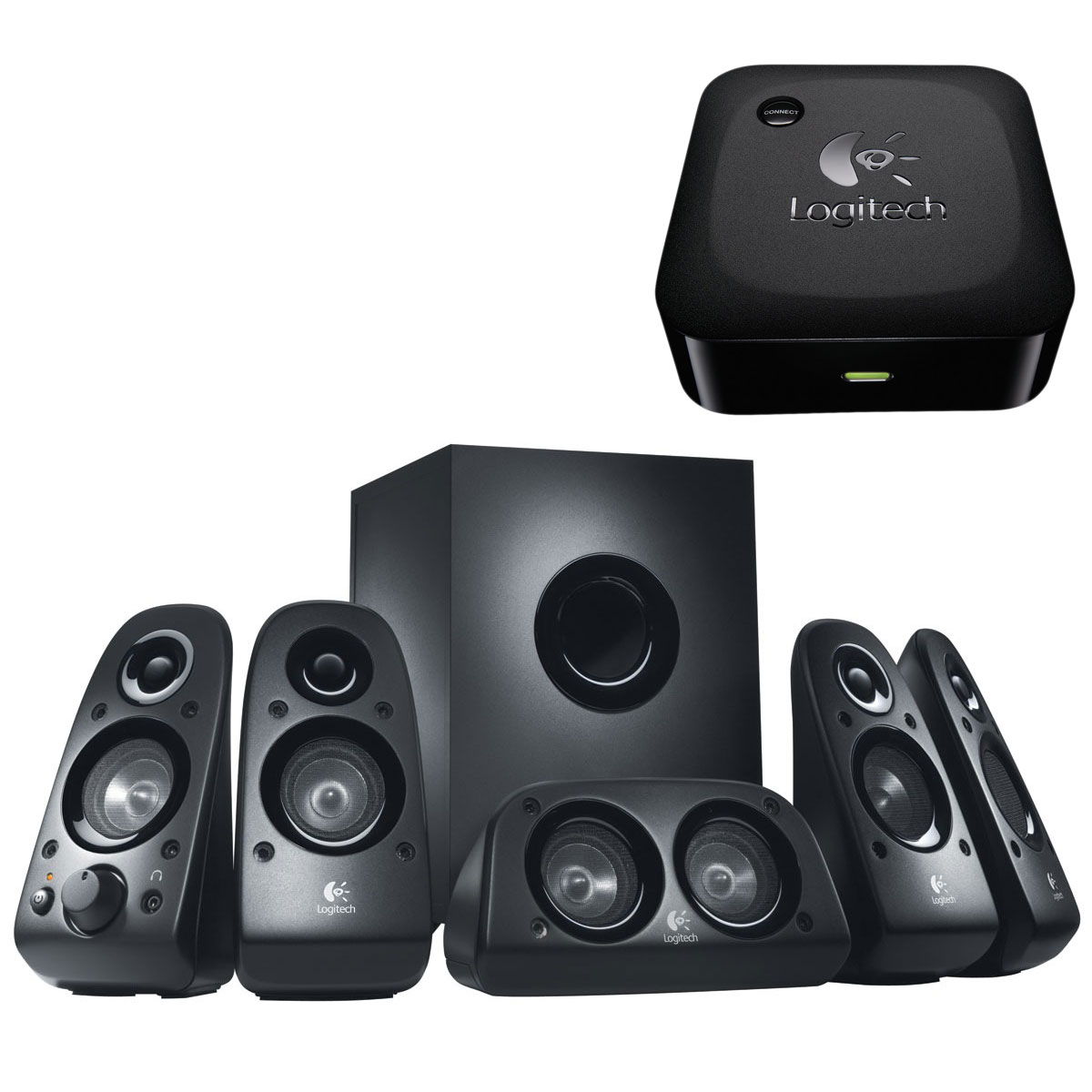Logitech Speaker System Z506 Logitech Wireless Adapter