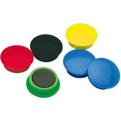 10 Aimants 15 Mm Coloris Assortis Accessoires Tableau