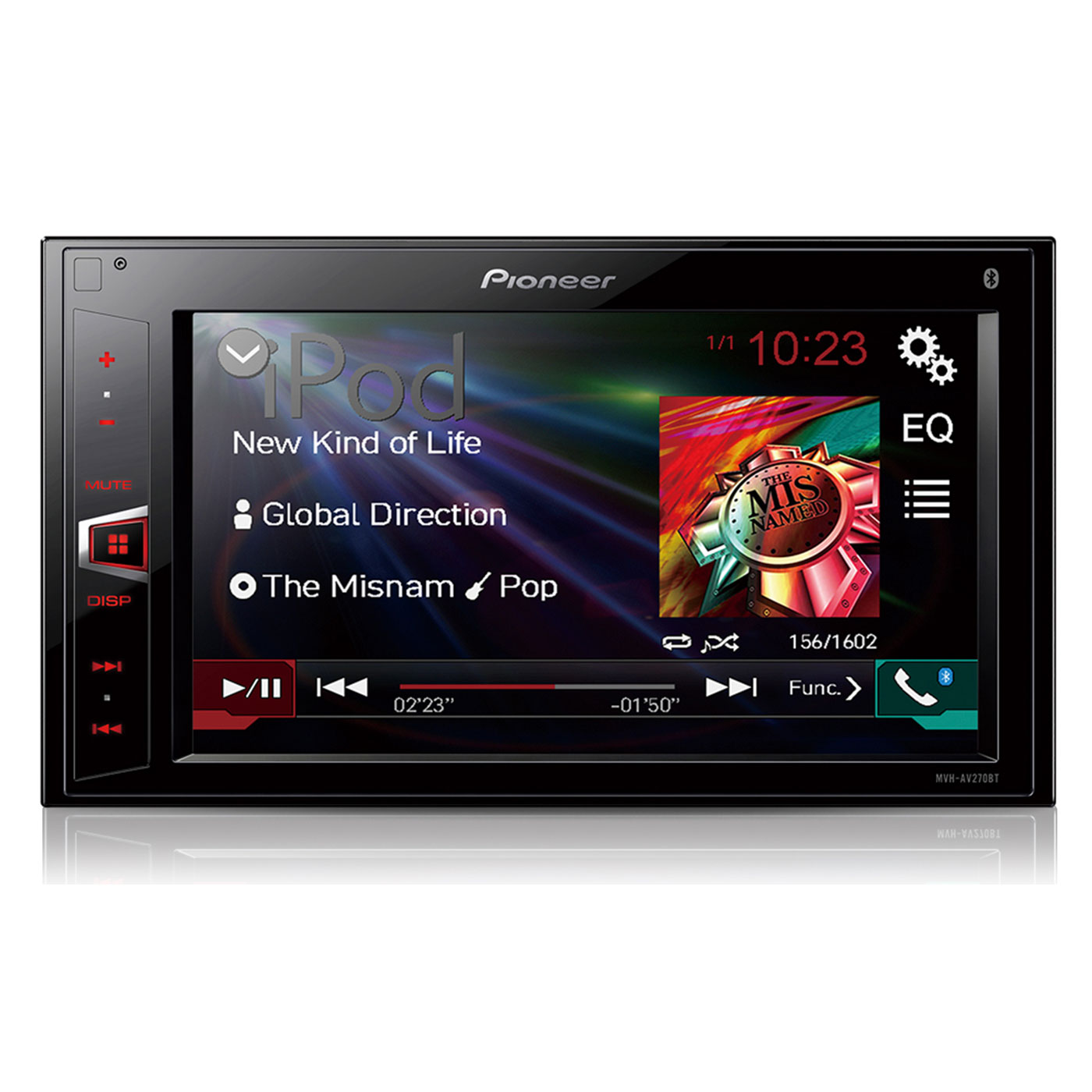 pioneer avh 288bt qual formato de video subwoofer wiring diagrams understand ohm s law mvh av270bt autoradio sur ldlc