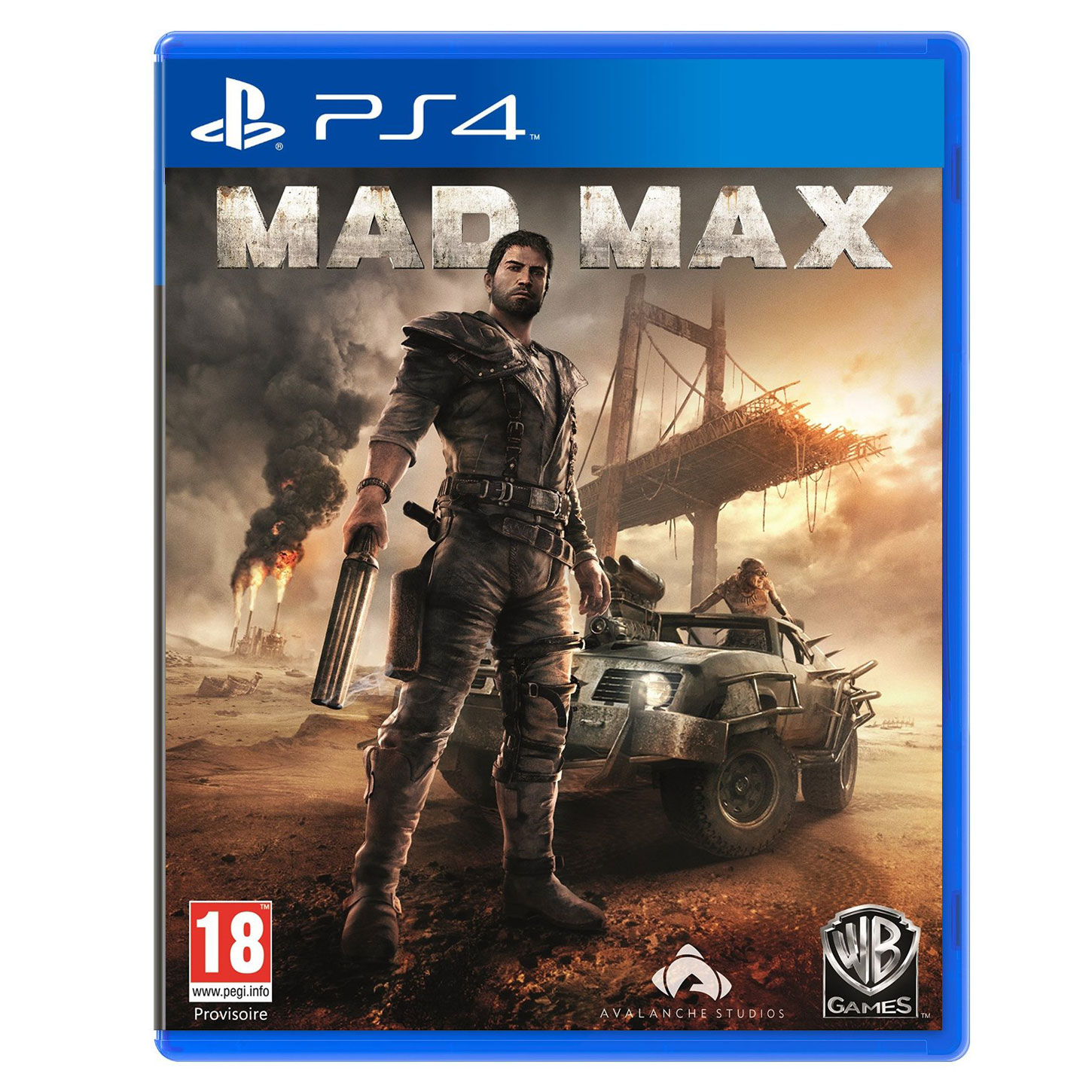 Mad Max PS4 Jeux PS4 Warner Bros Games Sur