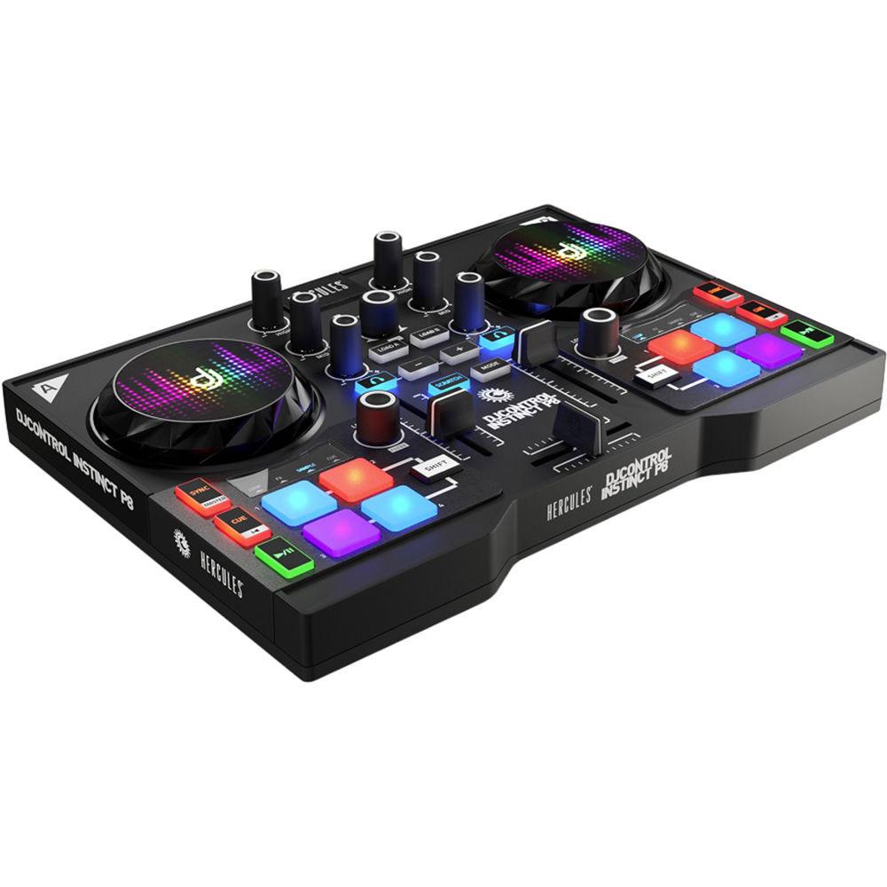 Hercules Djcontrol Instinct P8  Table De Mixage Hercules