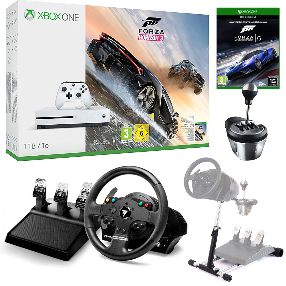 Microsoft Xbox One S 1 To Simracing Pack Console Xbox