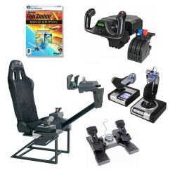 Flight Simulator Chair 360 Hobby Lobby Wedding Covers Playseats Flightseat 43 Saitek Pz44 Pz35