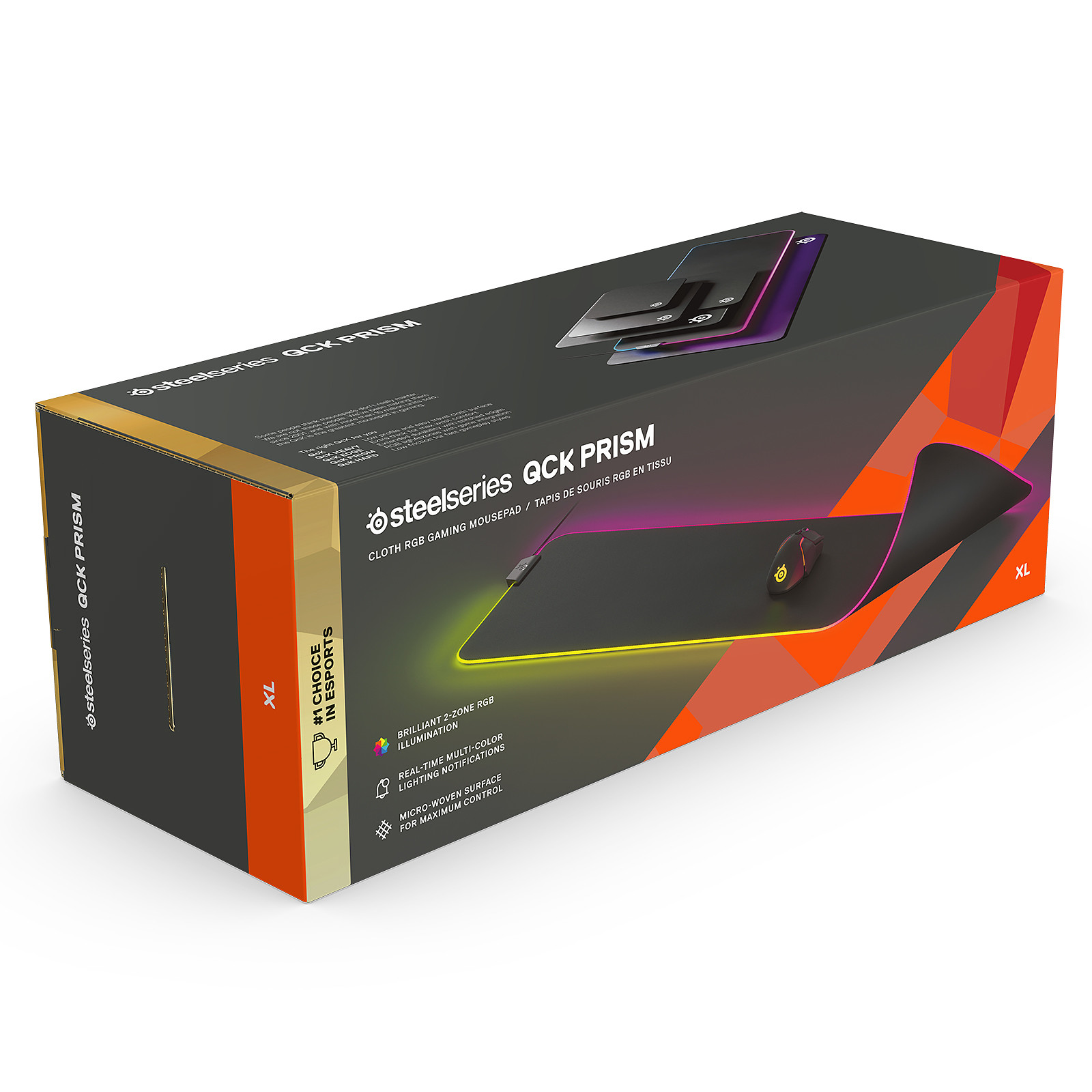 steelseries qck prism cloth extra large