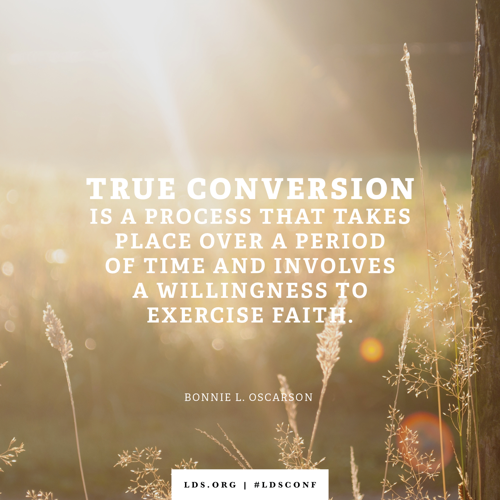 Lds Quote Wallpaper True Conversion Is A Process