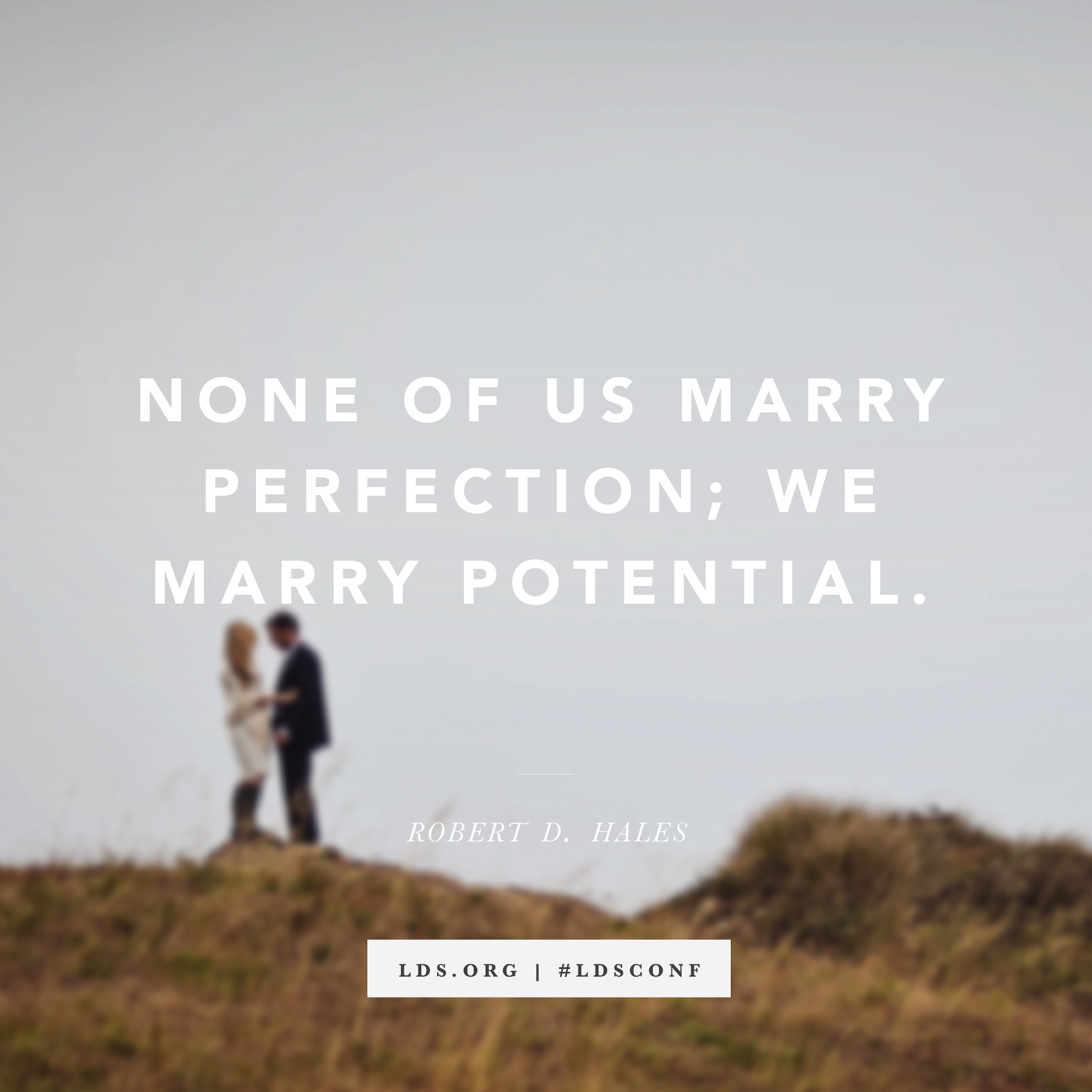 Lds Quote Wallpaper We Marry Potential