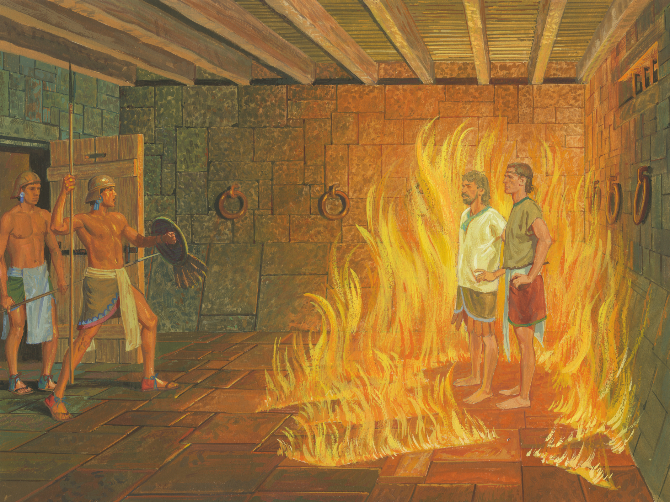 Brothers Wallpapers With Quotes Nephi And Lehi In Prison