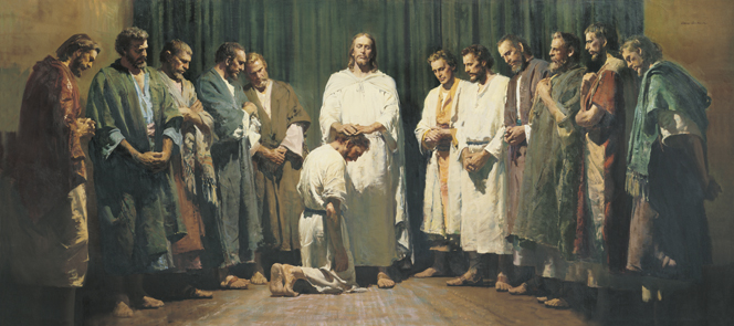 more believing - Christ ordains his Apostles