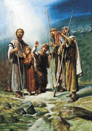 Los pastores - El nacimiento de Jesucristo - Conexión SUD