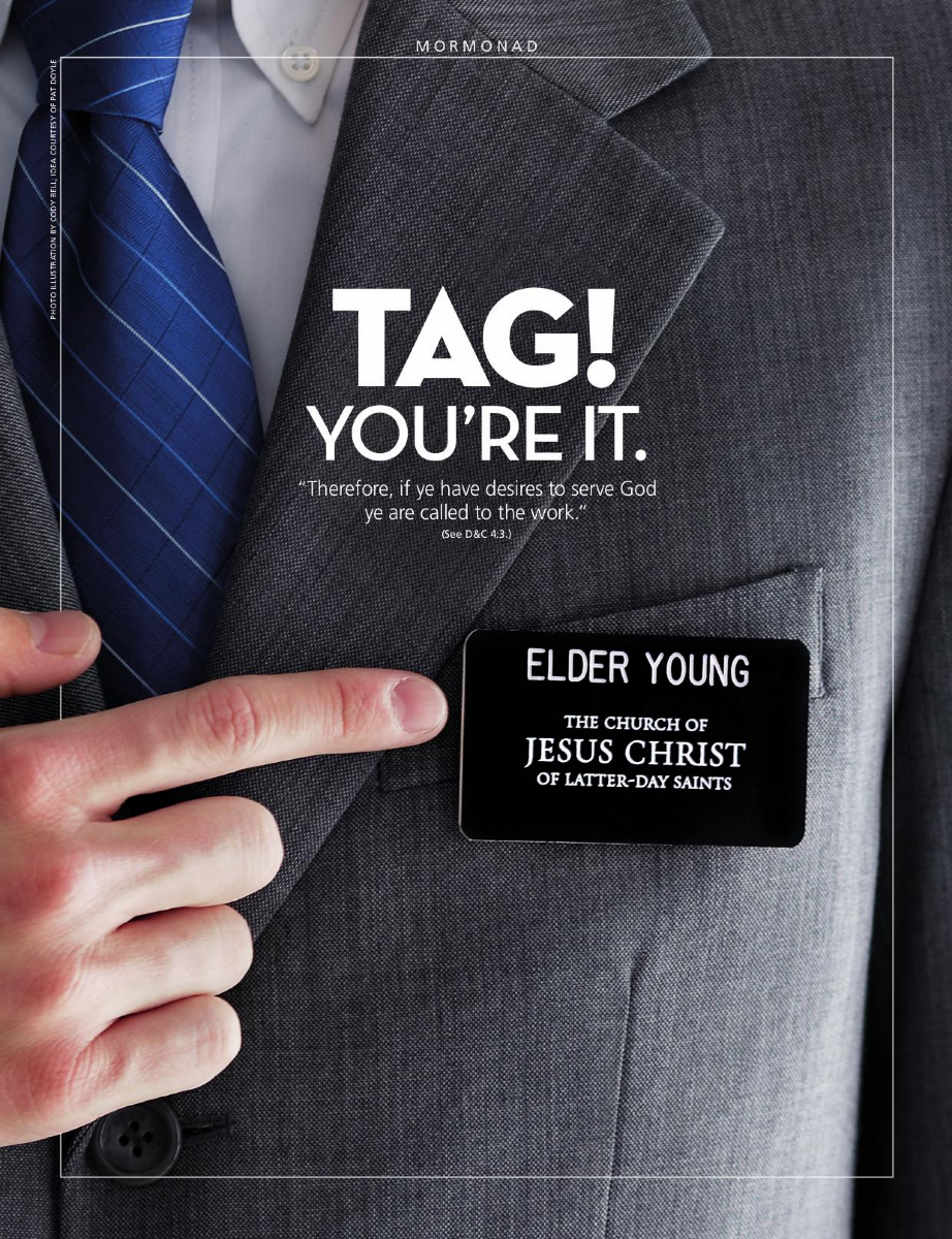 Lds Missionary Name Tag