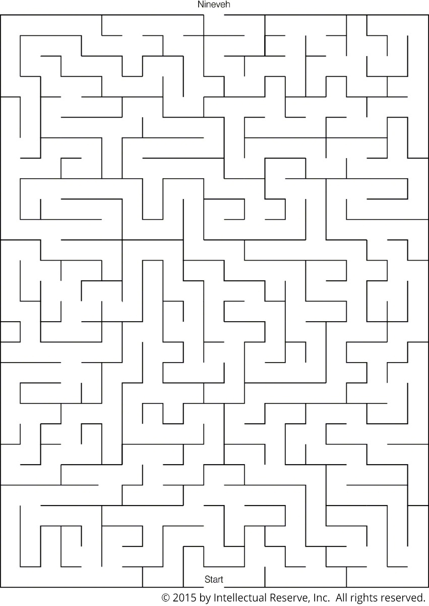 Nineveh Maze