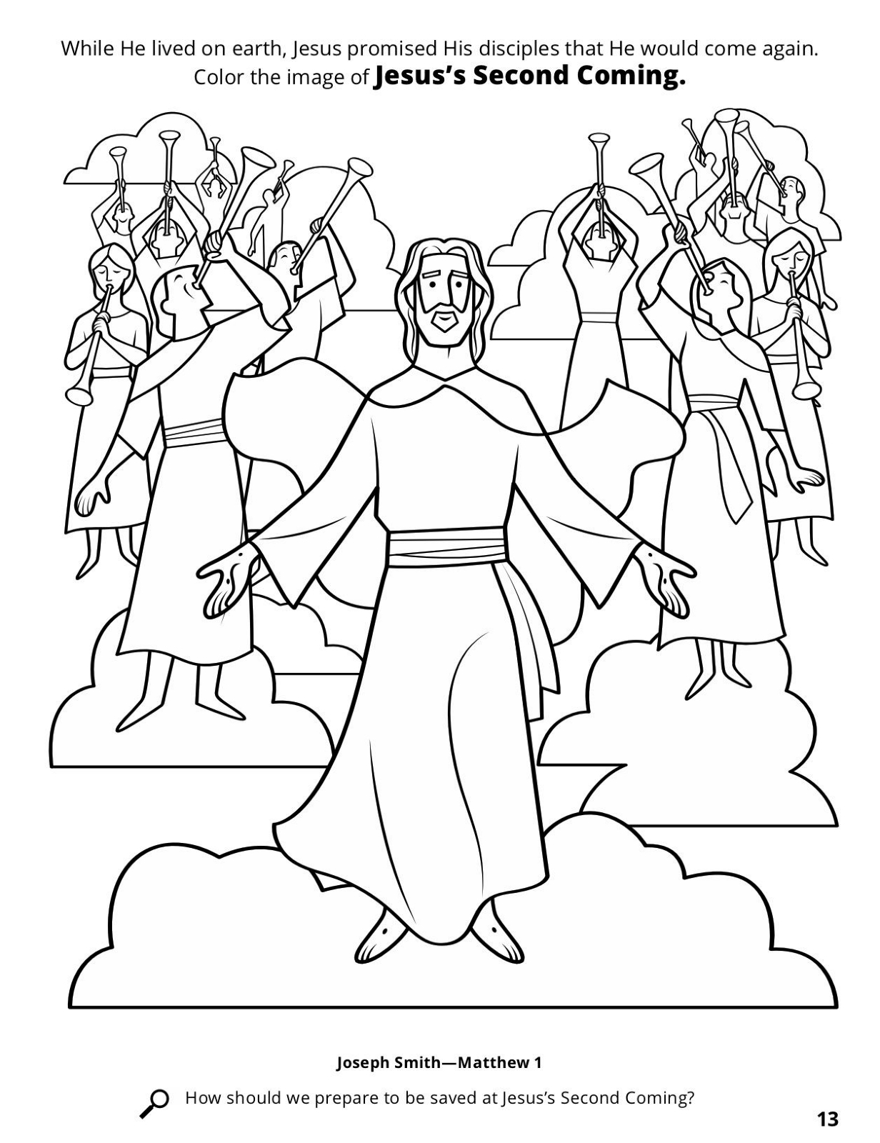 The Second Coming Of Jesus Christ Disney Princess Belle Coloring Pages