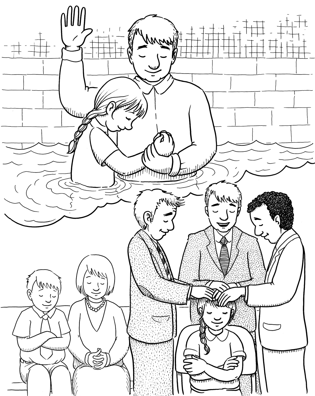 Baptism and the Gift of the Holy Ghost