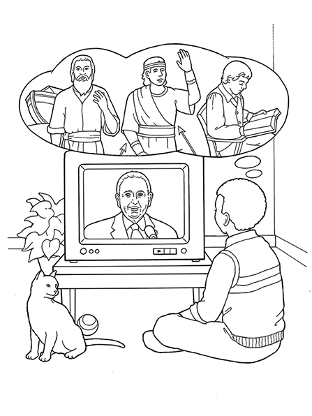 electronics working principle television tv