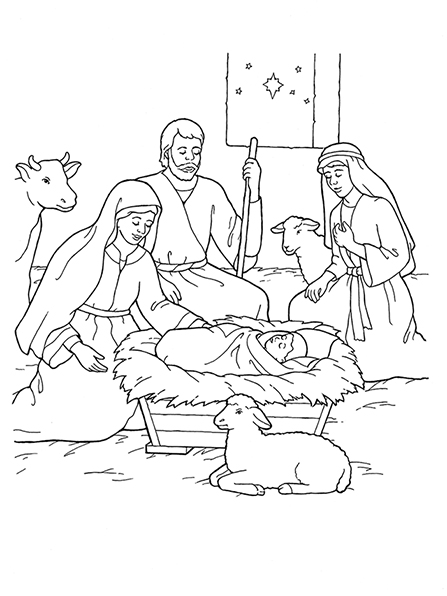 Primarily Inclined: Primary 2 Lesson 7: The Birth of Jesus