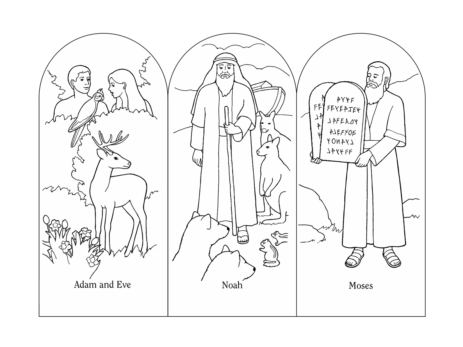 Nursery Manual Page 99: I Love the Scriptures