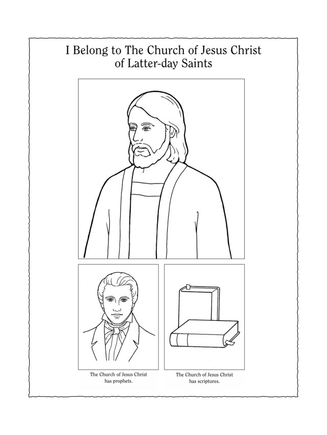 Nursery Manual Page 13: I Belong to The Church of Jesus Christ of
