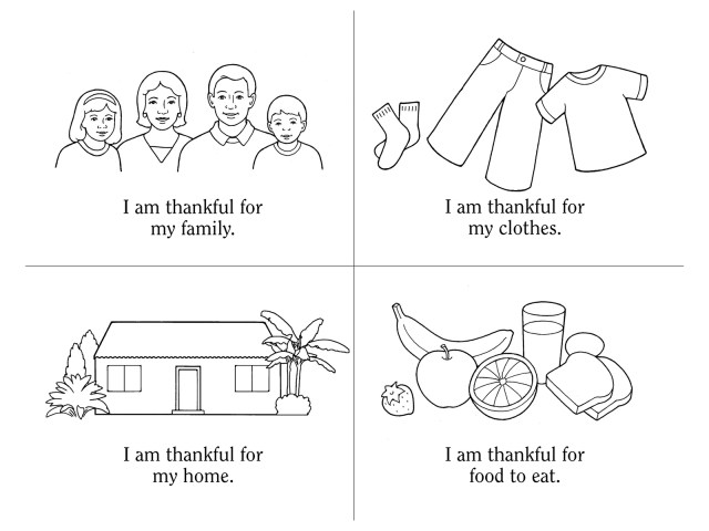 Nursery Manual Page 13: I Will Be Thankful