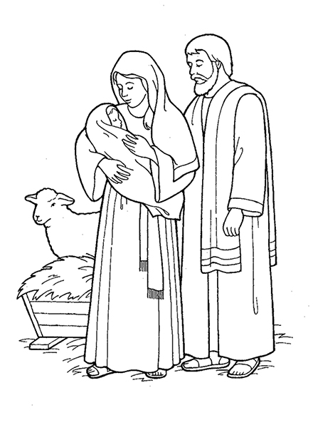 Jesus Came to Earth Nativity