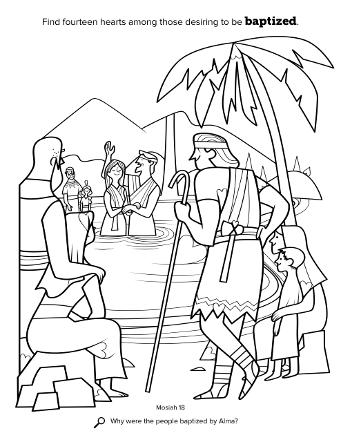 Nephi Book Of Mormon Coloring Pages