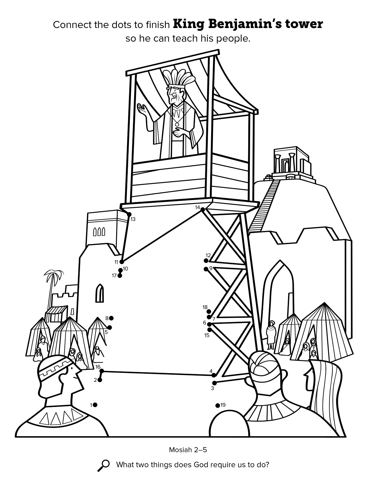 Book Of Mormon Missionary Coloring Pages