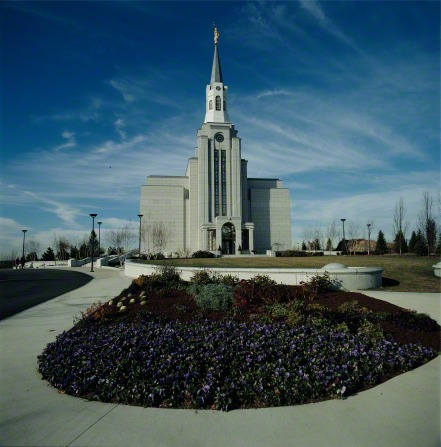 The Boston Massachusetts Temple and Grounds