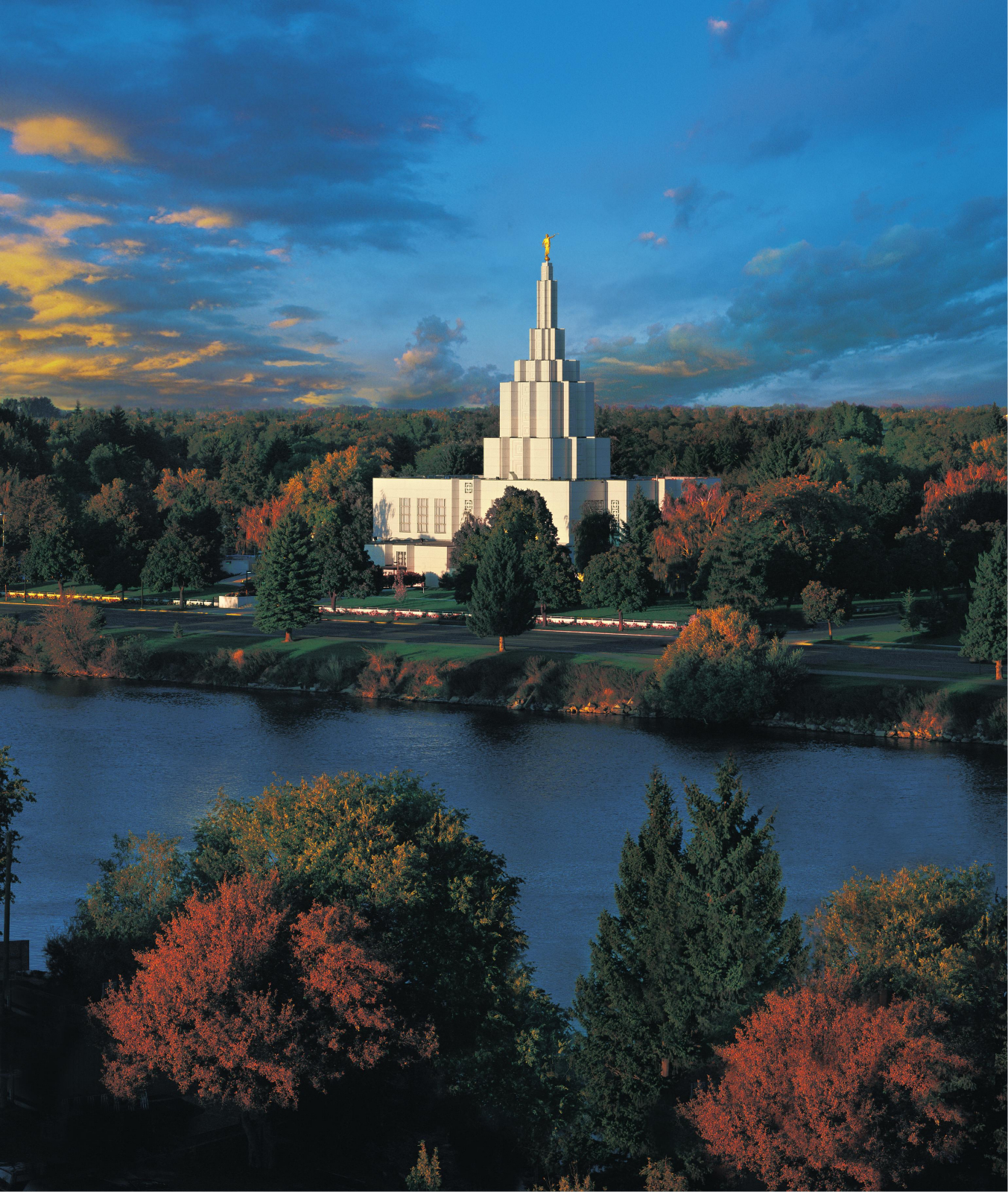 Free Fall Wallpaper For Computer Idaho Falls Idaho Temple