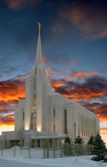 Gospel Wallpapers With Quotes Rexburg Idaho Temple At Sunset