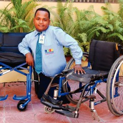Wheelchair Man Leather Chair Ottoman Set Wheelchairs In Dominican Republic Share