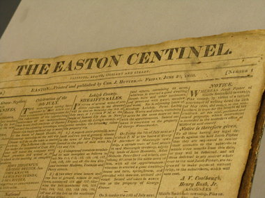easton sentinel newspaper