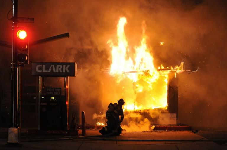 Phillipsburg gas station fire damages building vehicles