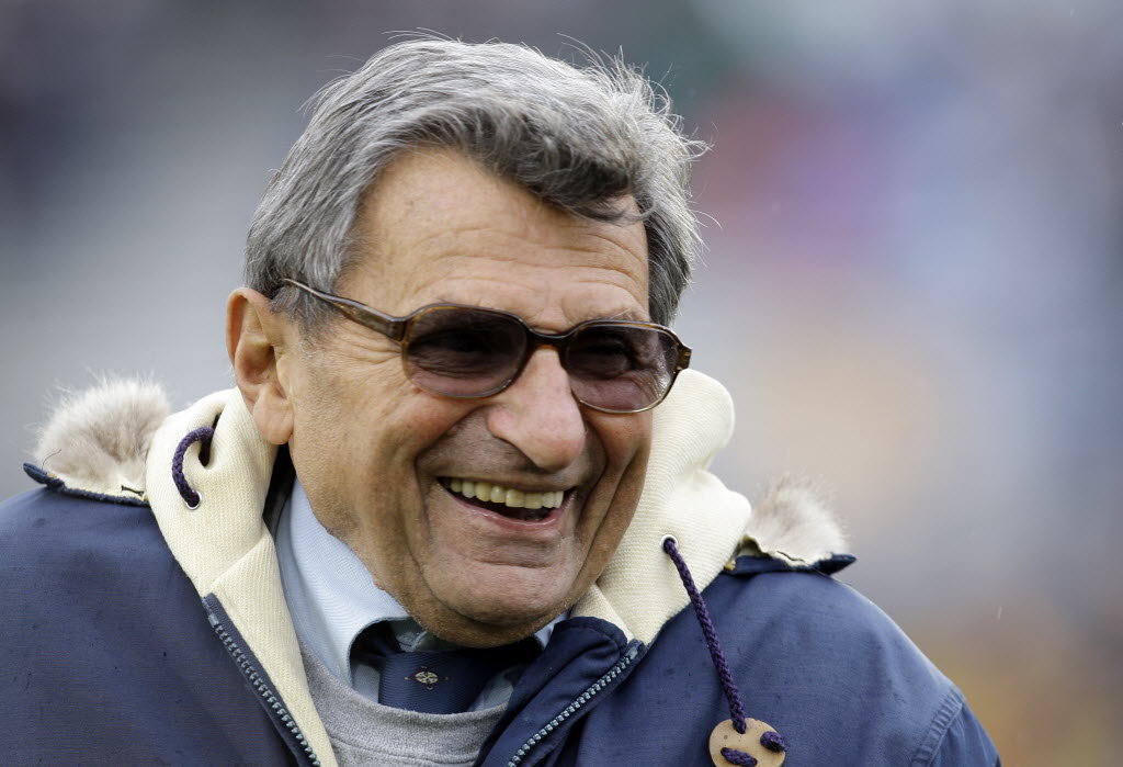 Joe Paterno candlelight vigil to be held to mark oneyear anniversary of his death