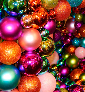 Christmas Ornaments And Lights