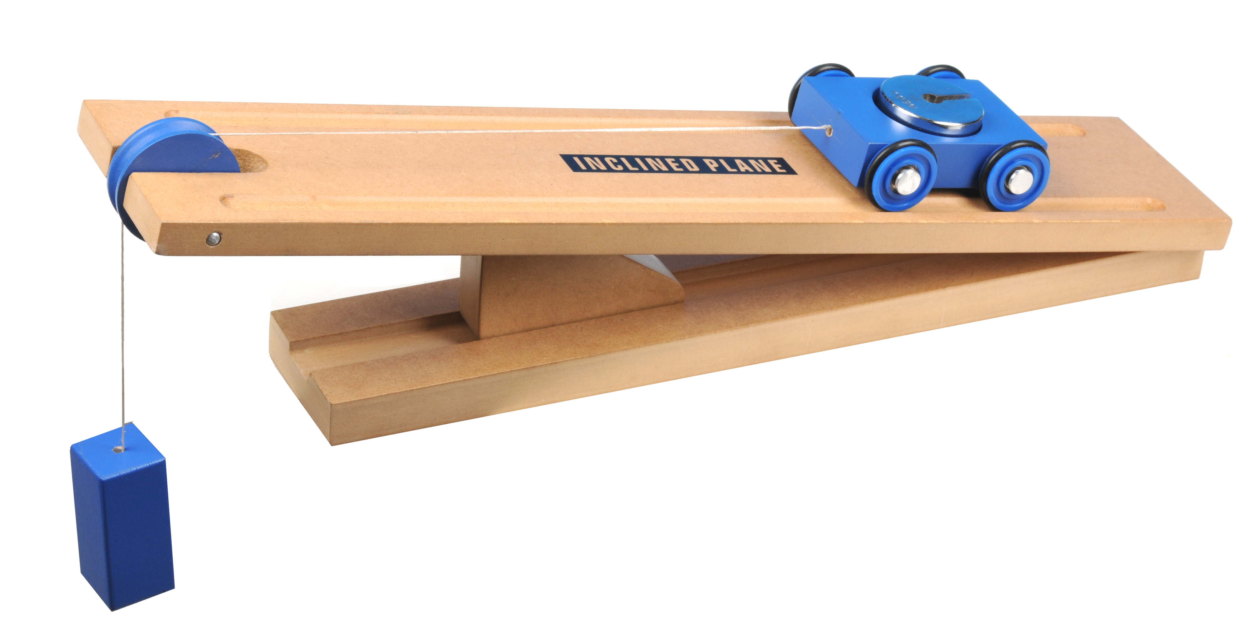 Simple Inclined Plane Cart Model