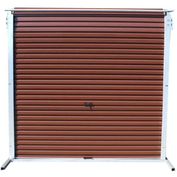 Garage Door Roll Up Aluzinc Brown W2450xh2100mm Leroy Merlin South Africa
