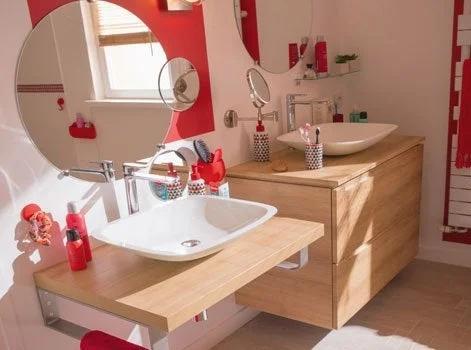 salle de bains au handicap leroy merlin