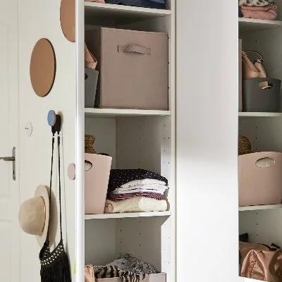 le dressing ideal pour une chambre d